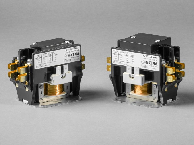 1  2 pole definite purpose contactor that can be custom-engineered