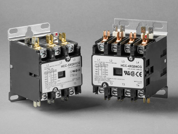 3  4 pole DP contactor for commercial applications, multiple