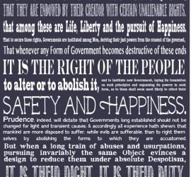Bill of Rights Preamble