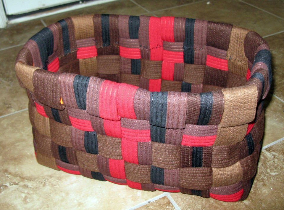 Karate Belt Basket