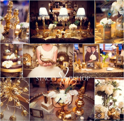 Gold Affair Collage