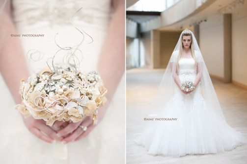Brooch Bouquet for Lex Mullis