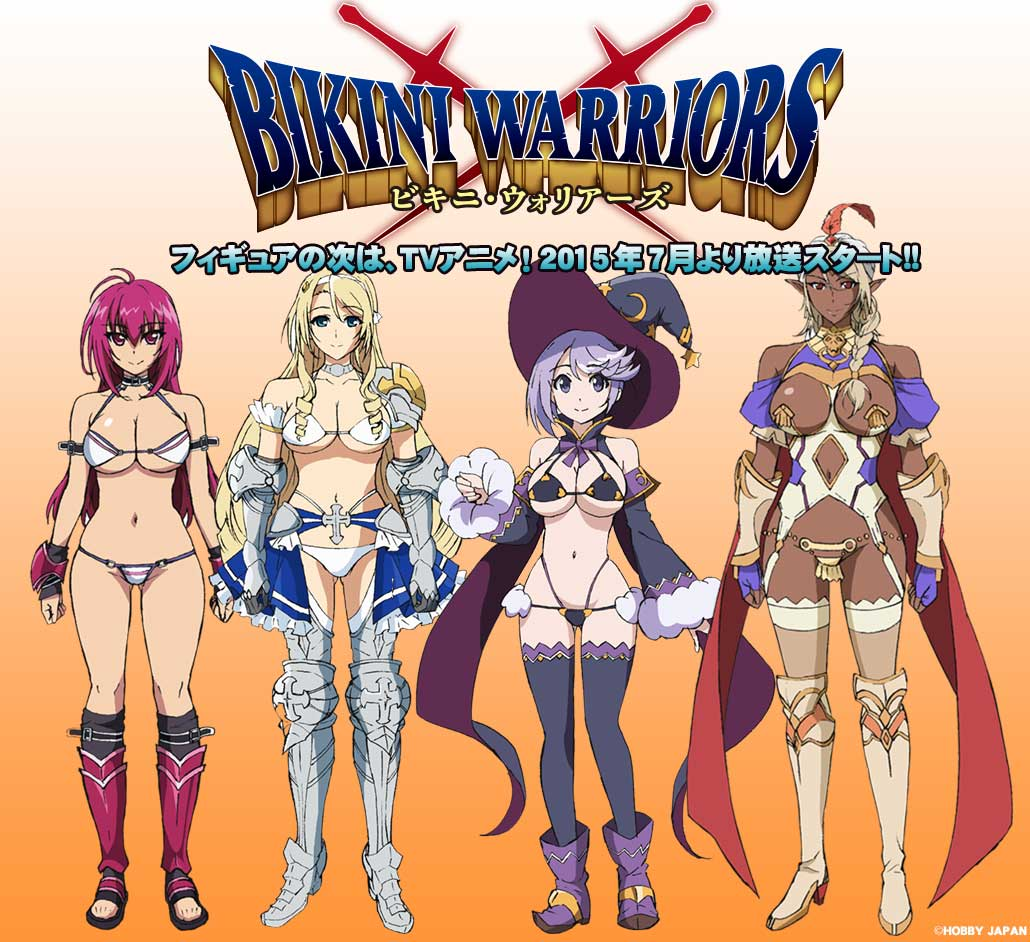Bikini Warriors TV Anime visual