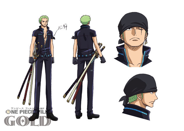 One Piece Film Gold Character Designs 0002