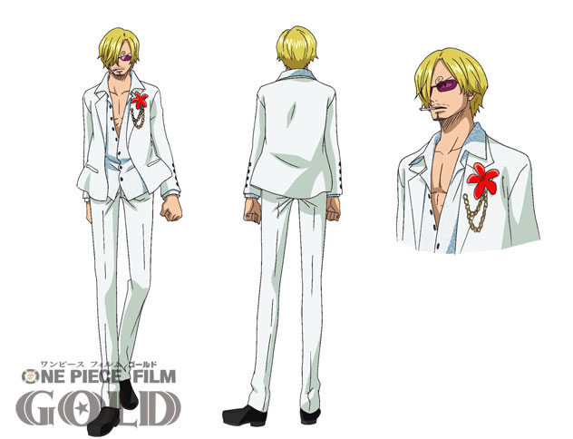 One Piece Film Gold Character Designs 0014