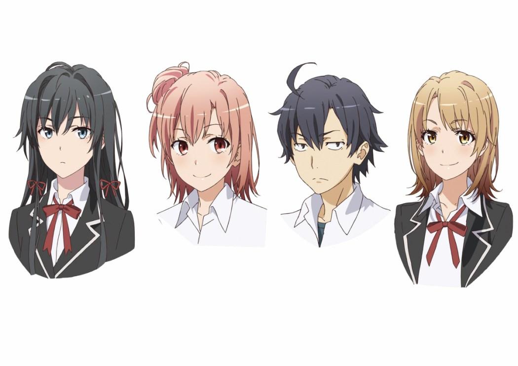 Oregairu 2 Character Designs Revealed haruhichan.com Yahari Ore no Seishun Love Comedy wa Machigatteiru. Zoku character designs 2