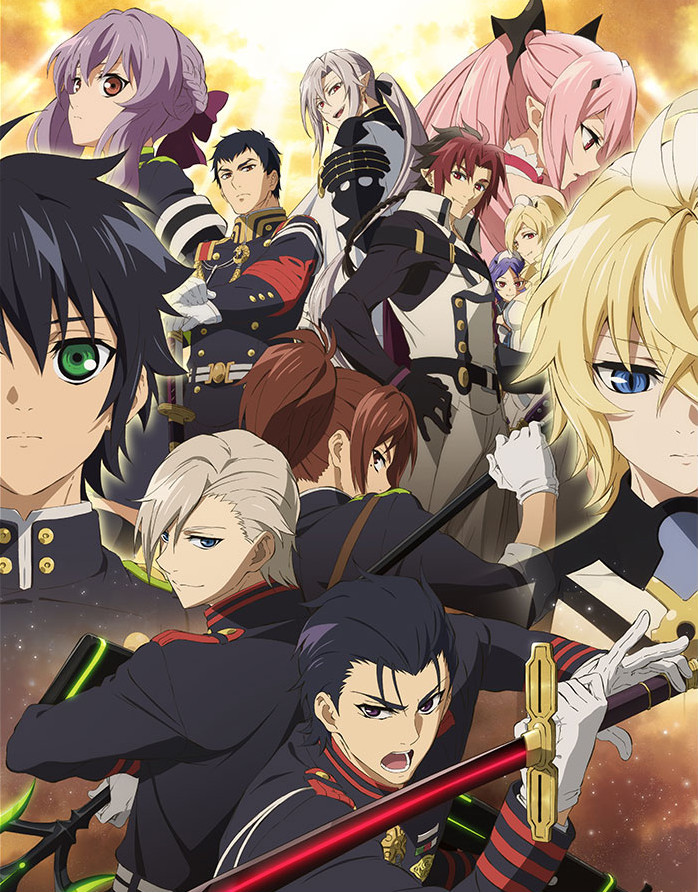 Owari no Seraph 2nd Season visual