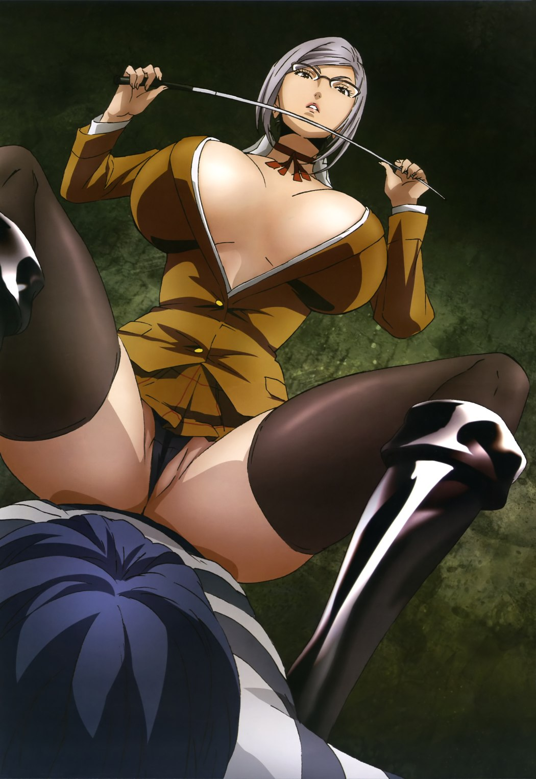 Prison School Meiko Shiraki Dominates in This Poster Visual