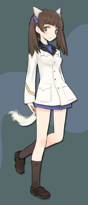 Strike-Witches-502nd-Joint-Fighter-Wing-Georgette-Lemare