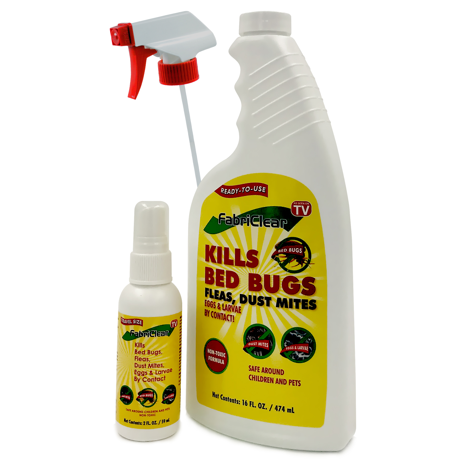 Spray To Kill Bed Bugs Fabriclear Bed Bug Spray