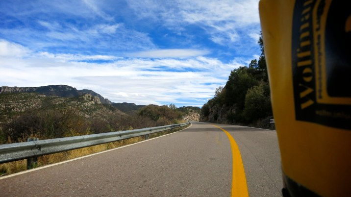 Absolutely beautiful road with excellent curves.