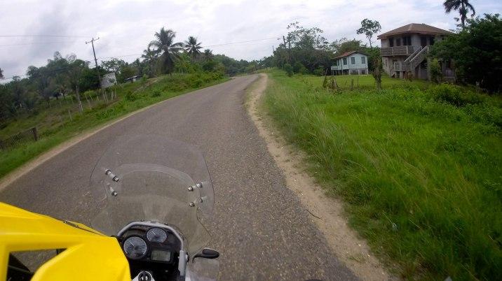 Near Guatemala, the road gets interesting again.