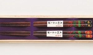 会津錦絵箸
