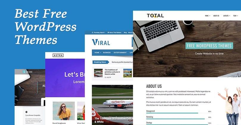 20+ Best Free WordPress Themes of 2018 - HashThemes - best free wordpress templates