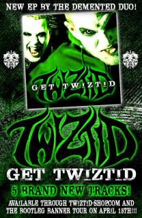 News Added Mar 03, 2014 Get Twiztid is an EP to release for the Bootleg Banner tour starting on the 15th. Those who attend the show with the VIP package get to meet Twiztid, get tons of stuff including a never heard before VIP single. Submitted By Mid