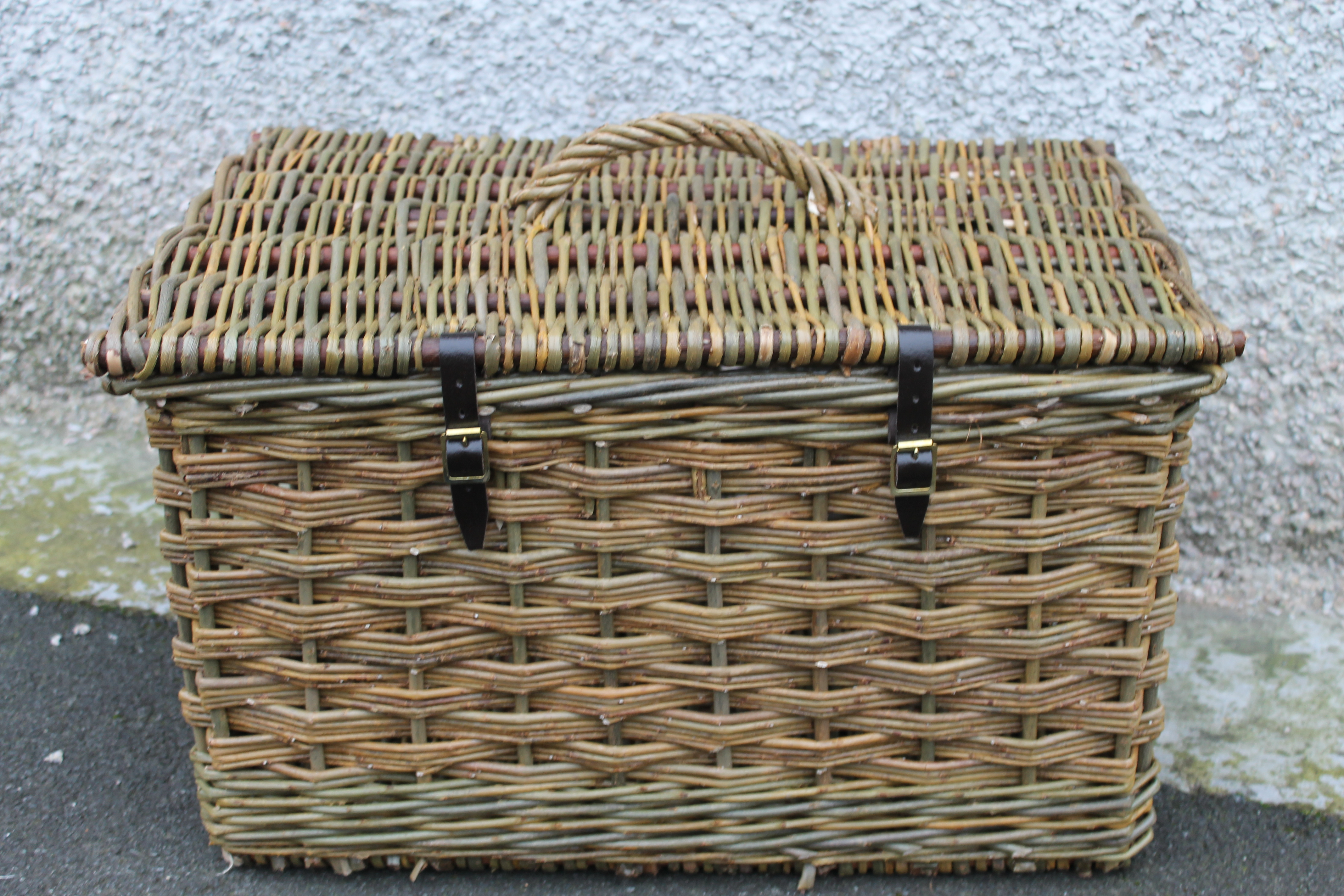 Animal Wicker Hamper Natural Willow Colours Wicker Baskets