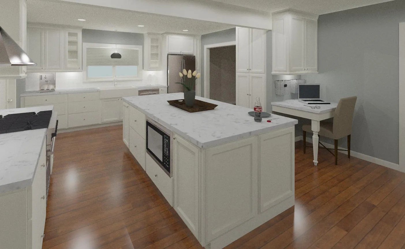 Kitchen Peninsula Kitchen Island Or Peninsula Hatchett Design Remodel