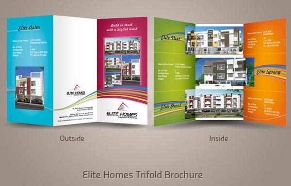 30+ Real Estate Brochure Designs for Inspiration - Hative - property brochure