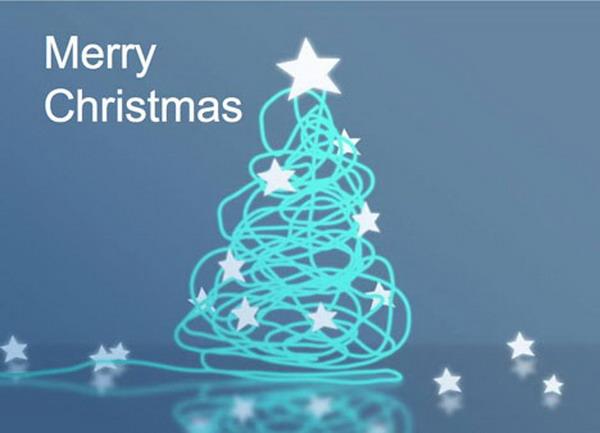 40+ Free Printable Christmas Cards - Hative