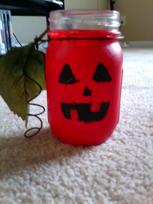 glass jar christmas crafts