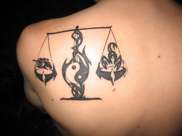 30 Cool Libra Tattoo Designs Hative
