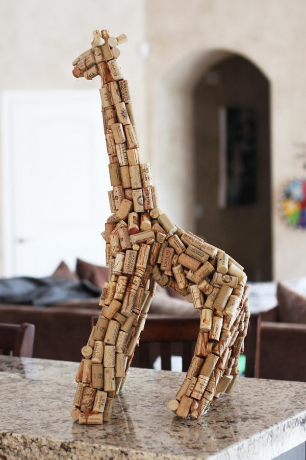 letter wine cork holders