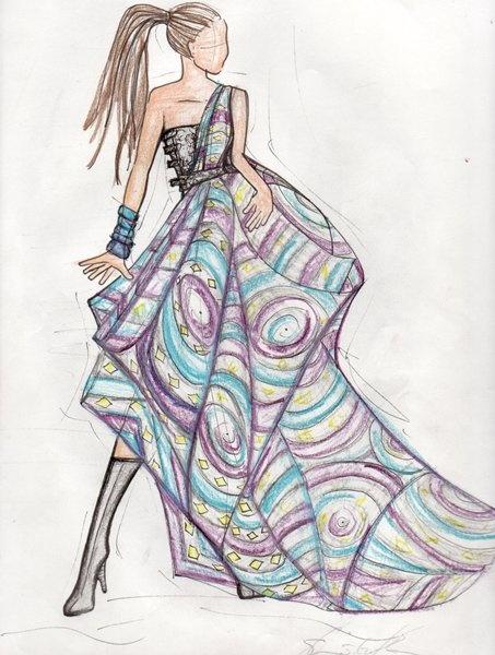 Fall Masquerade Fantasy Art Wallpapers 30 Cool Fashion Sketches Hative