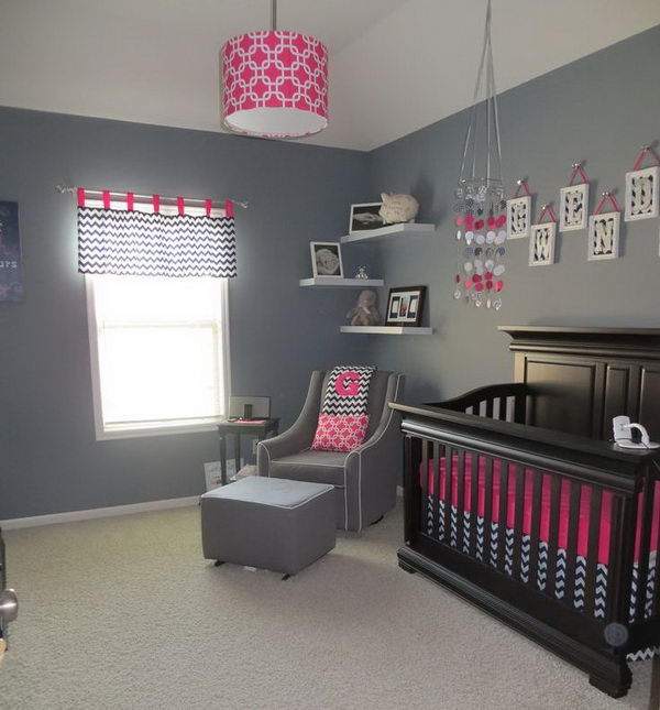 Wallpaper Pink Cute Girl 20 Cute Nursery Decorating Ideas Hative