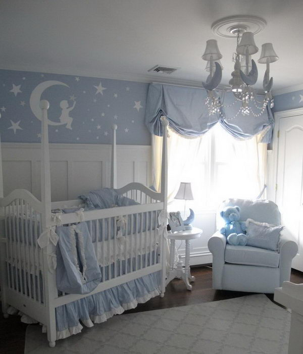 Love Cute Boy Wallpaper 20 Cute Nursery Decorating Ideas Hative