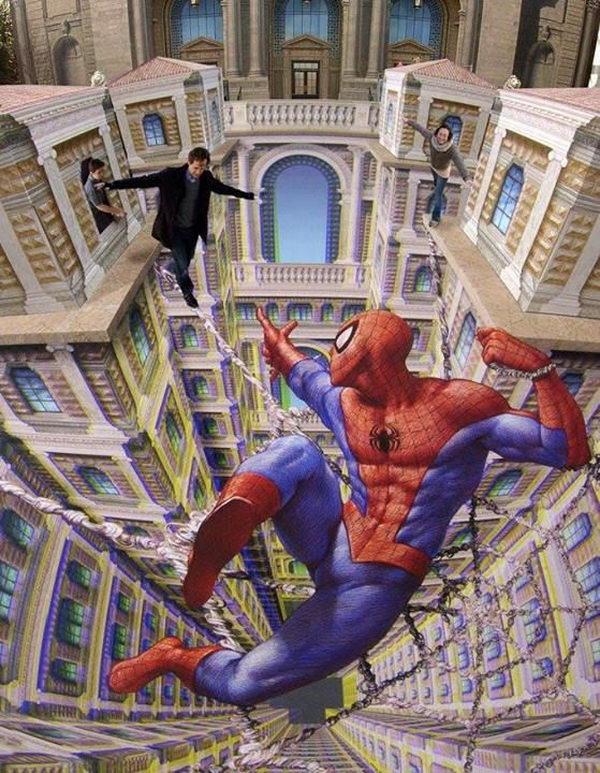 Wallpaper Gambar Grafiti 3d 20 Cool Spiderman Drawings Hative