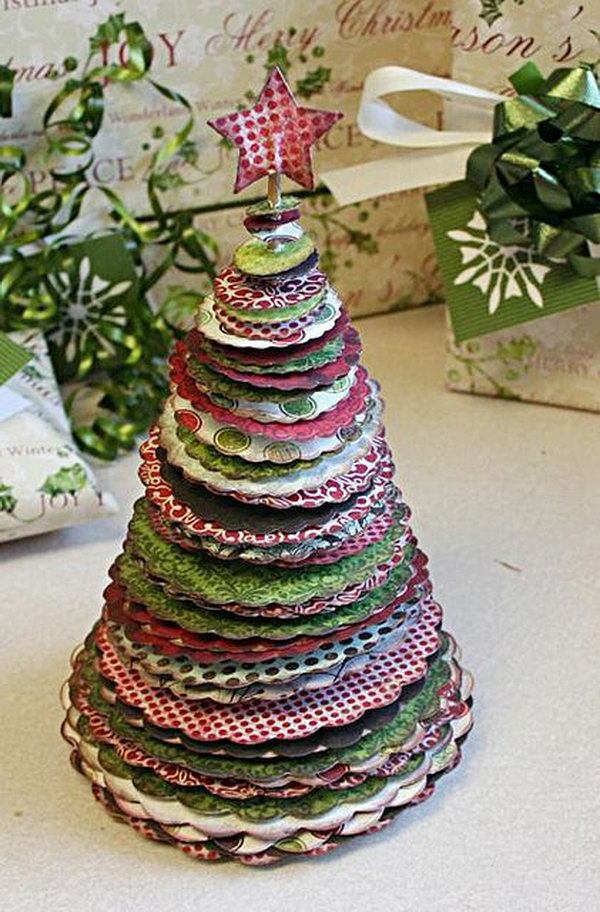 Idee Objet Noel Fabriquer 30 Creative Christmas Tree Decorating Ideas - Hative