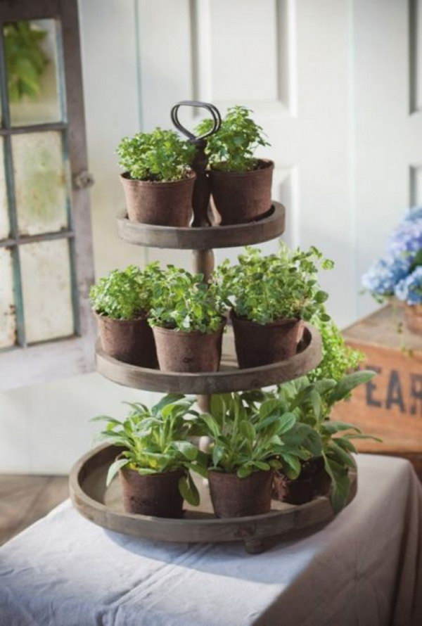 Ikea Diy 25 Cool Diy Indoor Herb Garden Ideas - Hative