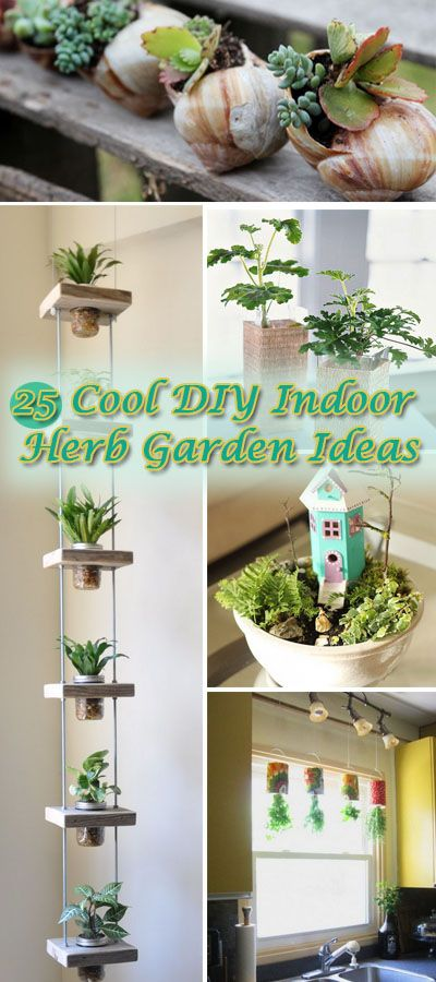 Ikea Glass Cups 25 Cool Diy Indoor Herb Garden Ideas - Hative