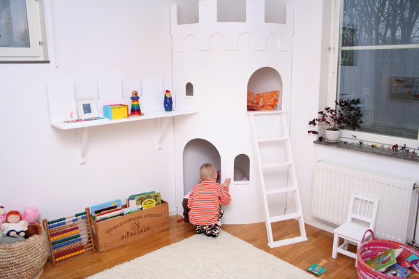Basteln Krippenkinder 10+ Cool Indoor Playhouse Ideas For Kids - Hative