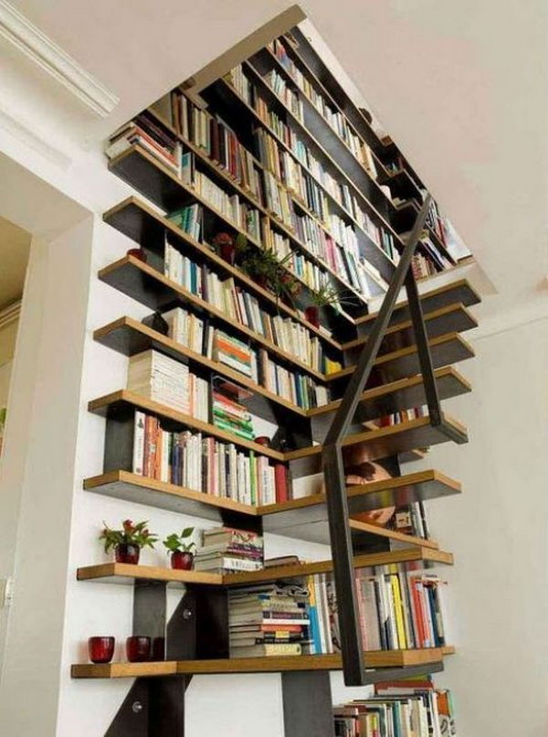 Cool Home Library Ideas - Hative - home library ideas