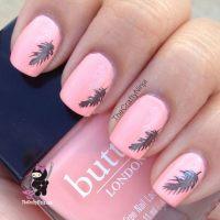 Creative Feather Nail Art Designs - Hative