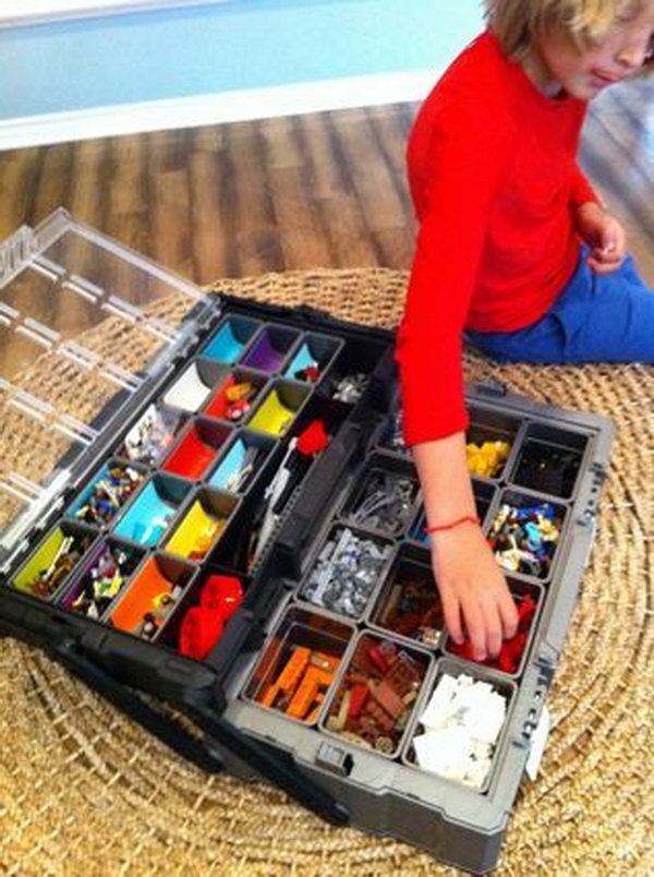 Boites Plastique Ikea Creative Lego Storage Ideas - Hative