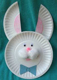 Pin Paper Plate Bunny Mask Kids Craft on Pinterest