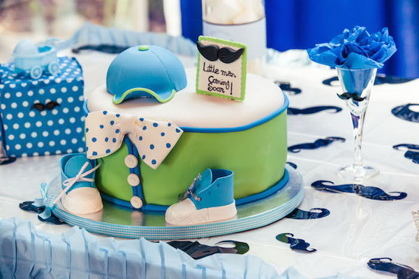 Cool Birthday Party Ideas for Boys - Hative - blue and green birthday party