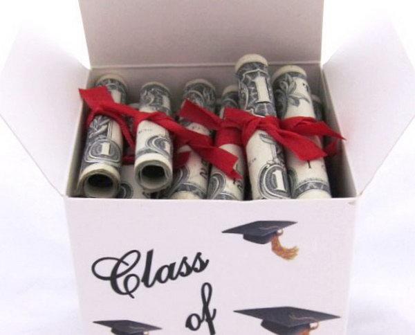 25 Diy Graduation Cash Gifts Hative