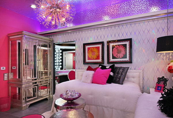 Rich Girl Wallpaper 80 Inspirational Purple Bedroom Designs Amp Ideas Hative