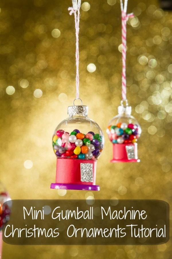 Hockey Girl Wallpaper 30 Diy Christmas Ornament Ideas Amp Tutorials Hative