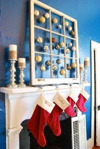 25+ Gorgeous Christmas Mantel Decoration Ideas & Tutorials ...