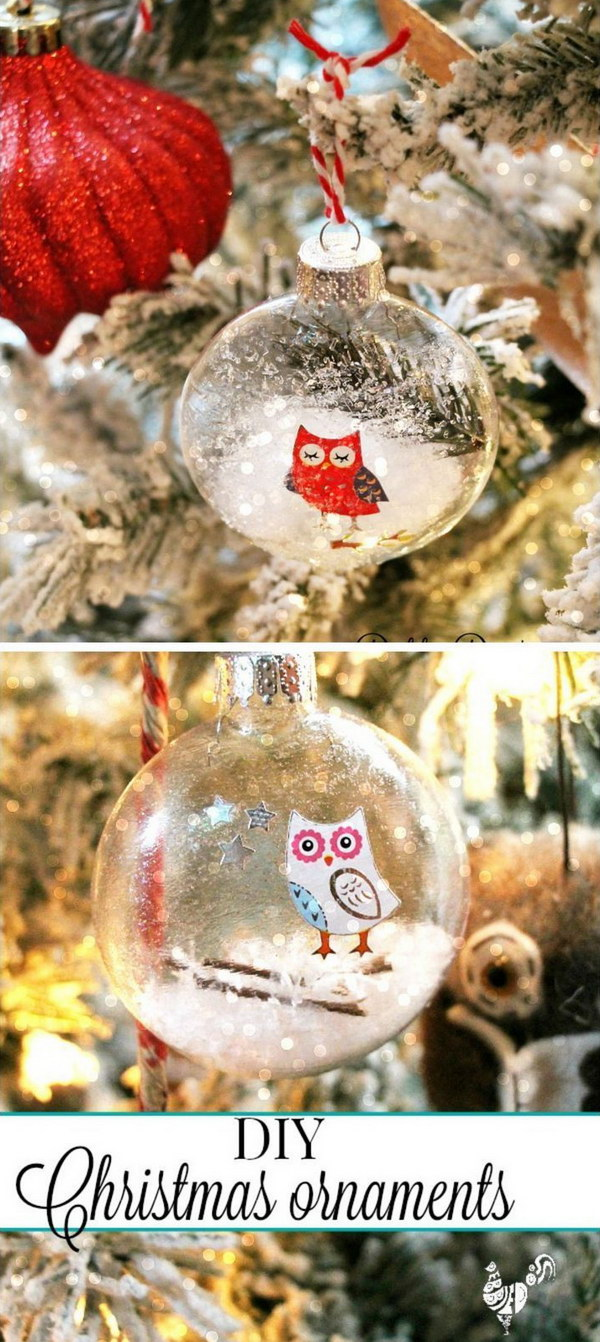 quick christmas ornaments