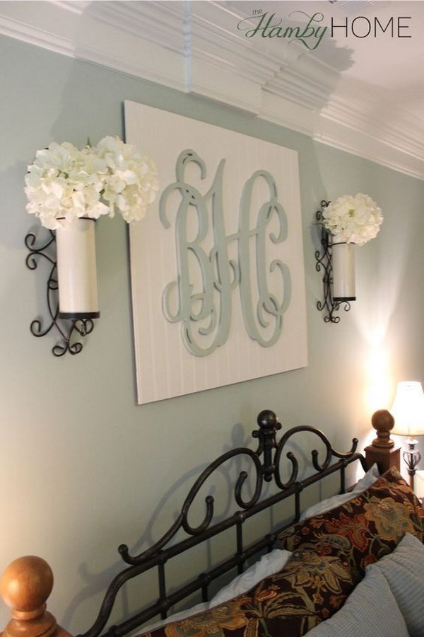 30 Awesome Wall Art Ideas  Tutorials - Hative