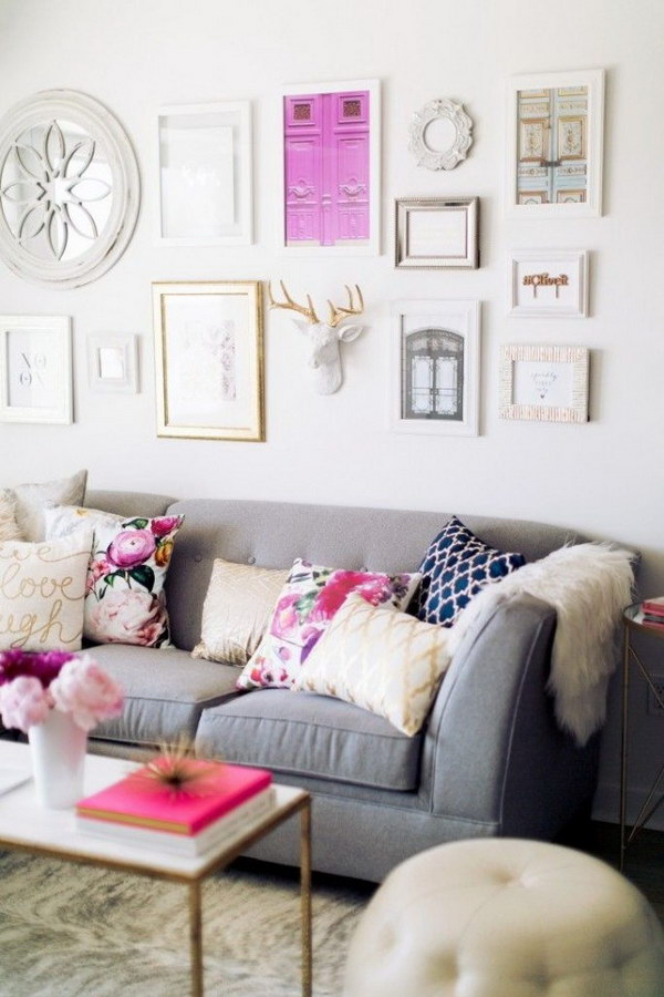 Pretty Living Room Colors For Inspiration - Hative - pretty living rooms