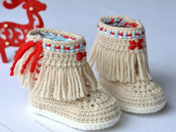 Baby Newborn Booties Cool Crochet Patterns Ideas For Babies Hative