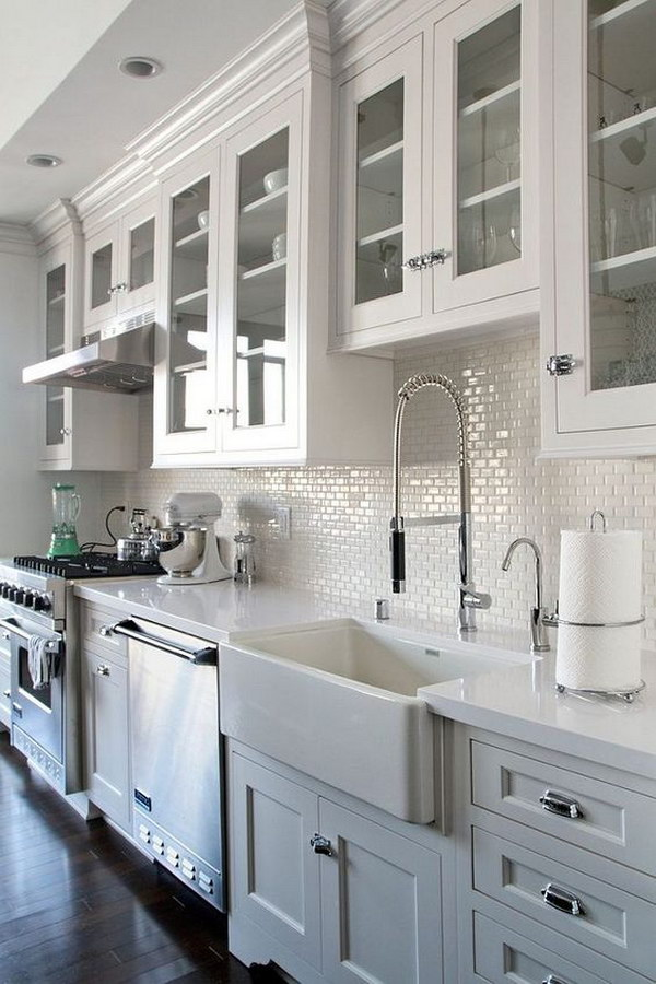 white kitchen mini subway tile backsplash kitchen backsplash mini subway tiles eclectic kitchen