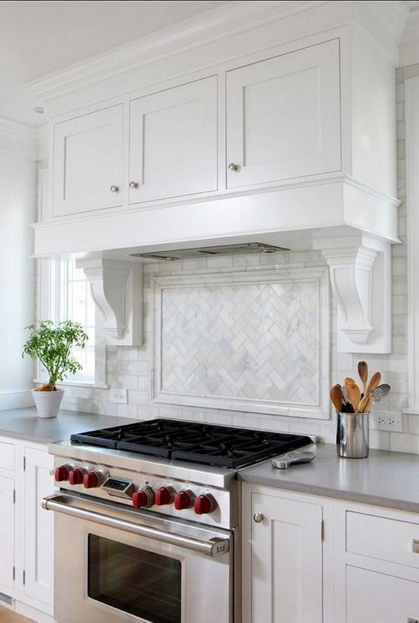 white kitchen moroccan tile backsplash beneath openshelves kitchens brick backsplash brick wallpaper kitchen kitchen ideas