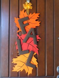 20 Awesome DIY Fall Door Decorations - Hative